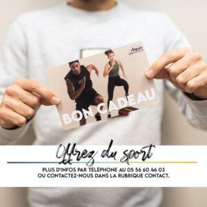 Popup Bon Cadeau Alegria Sport Club
